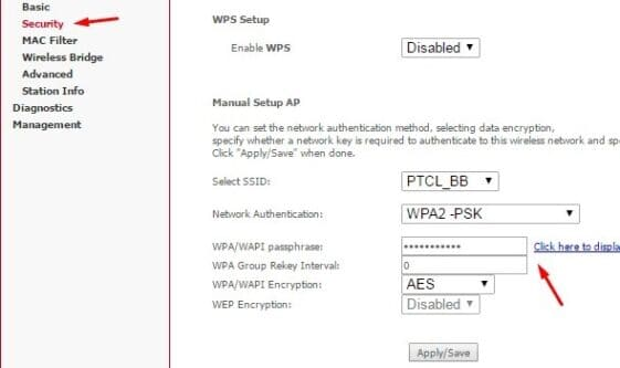 How to Change PTCL WIFI Password